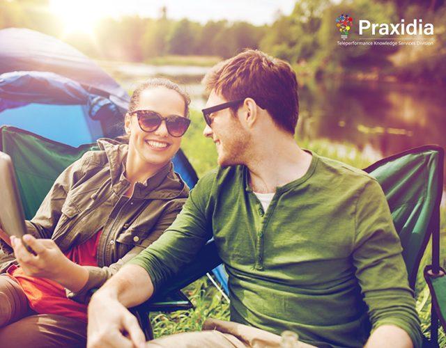 Profiling Digital Behavior of American Vacationers